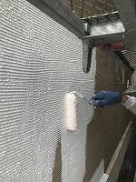 8-29外壁ソフトサーフ中塗り塗装(5)