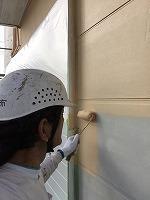 9-18外壁1階部分上塗りガイナ塗布1回目 (2)