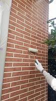 8-23外壁UVプロテクトクリヤー1回目塗装 (7)