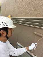 8-28外壁上塗りラジカルコートパーフェクトトップ塗布2回目 (3)