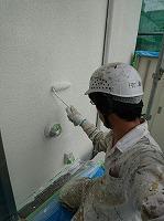 5-31外壁南面ダイナミックフィラー中塗り2回目