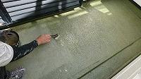 6-9バルコニー床シーラー下塗り塗布
