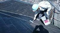 5-28屋根エポキシ系シーラー下塗り1回目