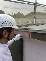 6-24破風幕板上塗りフッ素塗布1回目 (2)