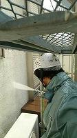 5-22作業外壁高圧洗浄 (2)