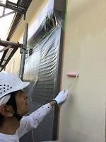 6-5外壁エポキシ系シーラー下塗り塗布4