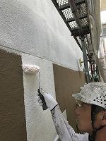 5-15壁面(SK水性ソフトサーフ)中塗り塗装1回目�