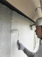 5-16壁面(SK水性ソフトサーフ)中塗り塗装2回目 (1)
