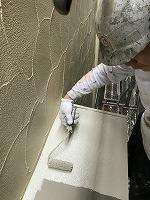 5-3付帯部(ニッペ4Fフッ素)上塗り塗装1回目3