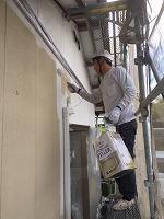 5-4外壁ダイナミックフィラー中塗り塗布4