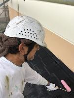9-20屋根ミラクシーラーEPO下塗り塗布 (1)