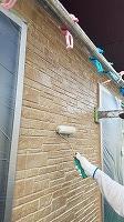 8-5外壁上塗りUVプロテクトクリヤー塗布1回目 (7)