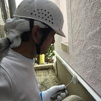 6-26樋水切り上塗りフッ素塗布1回目 (3)