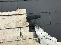 5-9屋根上塗り1回目