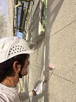 6-19外壁下塗りミラクシーラーECO塗布 (4)