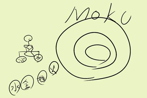 木星に自転車で飛んでいくちんぽこん