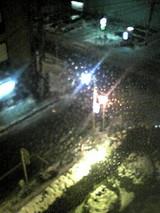 名古屋2/19大雪13センチ