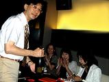 弁護士塩野先生たちとパーティ