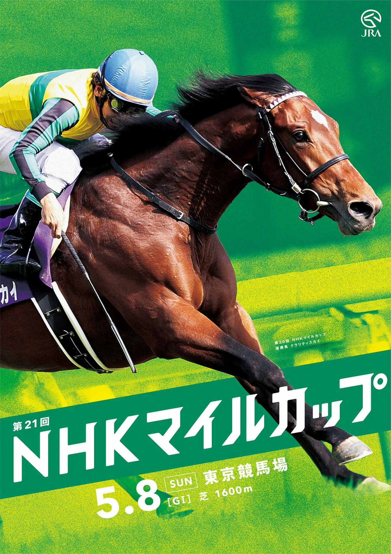 NHKマイルC ヴィクトリアマイル G1レースポスター : 競馬サイン・勝利 ...