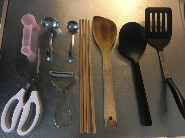 キッチンは、無印良品のアイテムの宝庫!