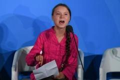 裏切り許さない=トゥンベリさん、怒りの演説−国連気候サミット