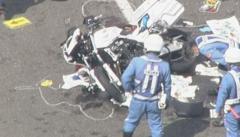 白バイ衝突…32歳の男性警察官が死亡…トラックの運転手を逮捕 信号機や一時停止標識ない交差点 北海道・苫小牧市