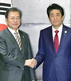 ドスを効かせた安倍首相 「韓国政府の責任で解決策を示せ」