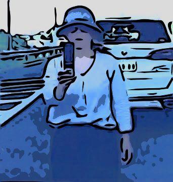 常磐道・煽り運転&暴行事件】「ガラケー女」と間違えられた女性