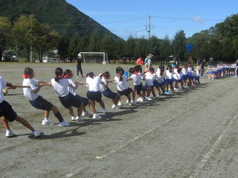 綱引き練習2