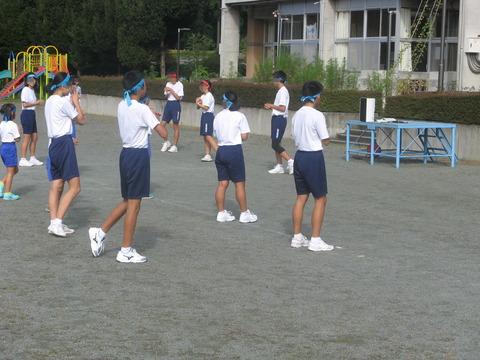 綱引き練習1