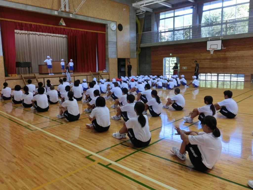 みどり市立東中学校 AZUMA PRIDE第2回 小中合同運動会に向けて スタート!(2014.9.2)