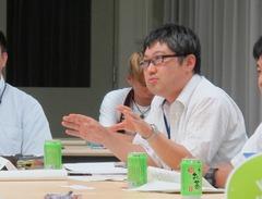 市民検討会議で防災について議論