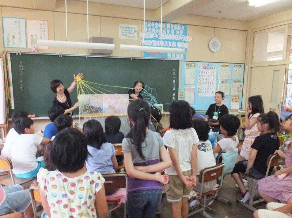 吾妻小学校PTA(旧)図書室からのお知らせ      はっぱのおうちのスペシャル読み聞かせ