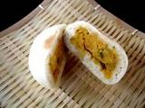 小川の庄チーズかぼちゃ中身