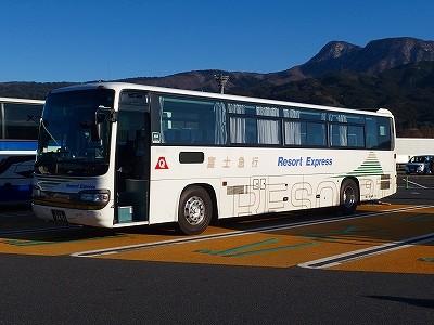 2017年1月22日富士急静岡バス か...