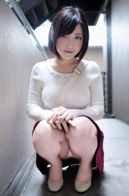 着衣エロ画像1