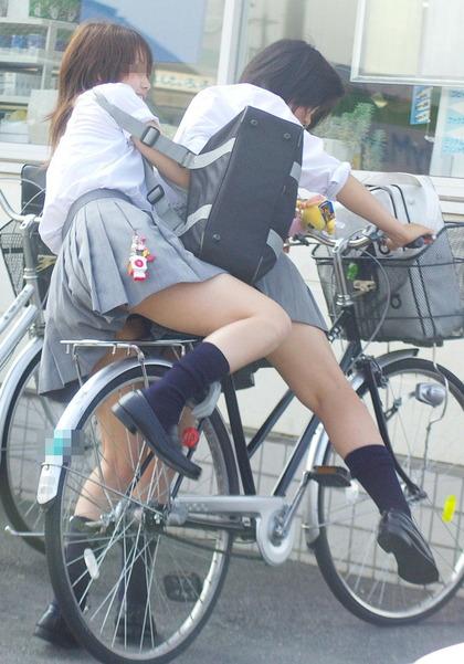 jk 自転車 エロ9