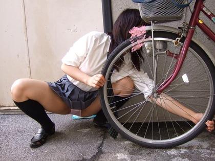 jk 自転車 エロ13