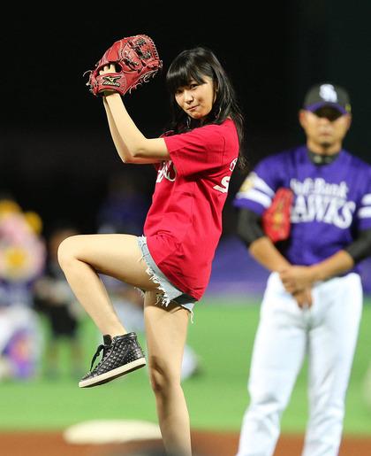 shasihara_rino_始球式