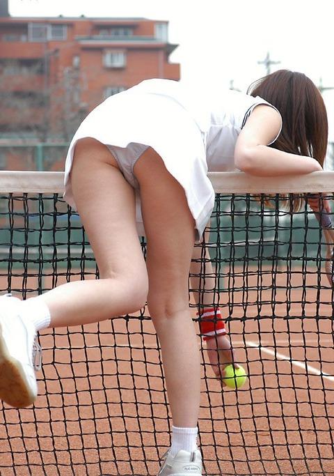 テニス パンチラ