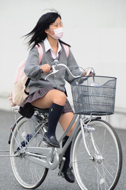 jk 自転車 エロ4
