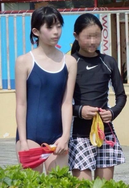 スク水少女エロ画像7