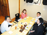 大橋さんと食事会1