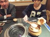 三浦社長と焼肉11