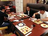 八幡先生食事会1