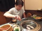 三浦社長と焼肉9
