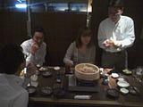谷先生と食事会