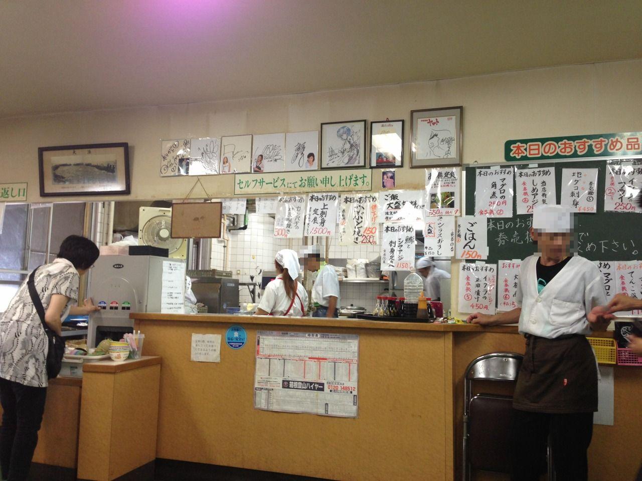 魚市場食堂>