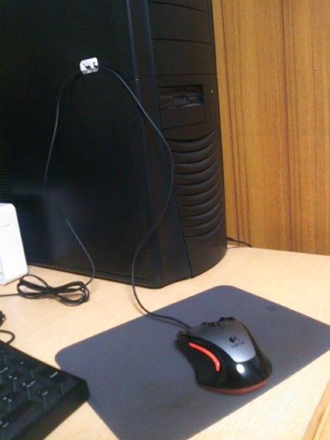 マウスコードホルダー