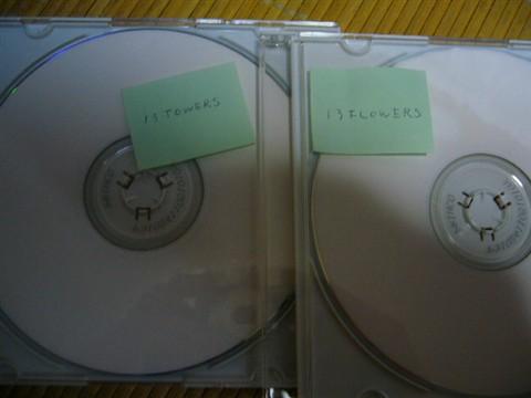 cd−r13の二枚